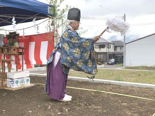 【お施主様ゴト】本日、地鎮祭を行いました!